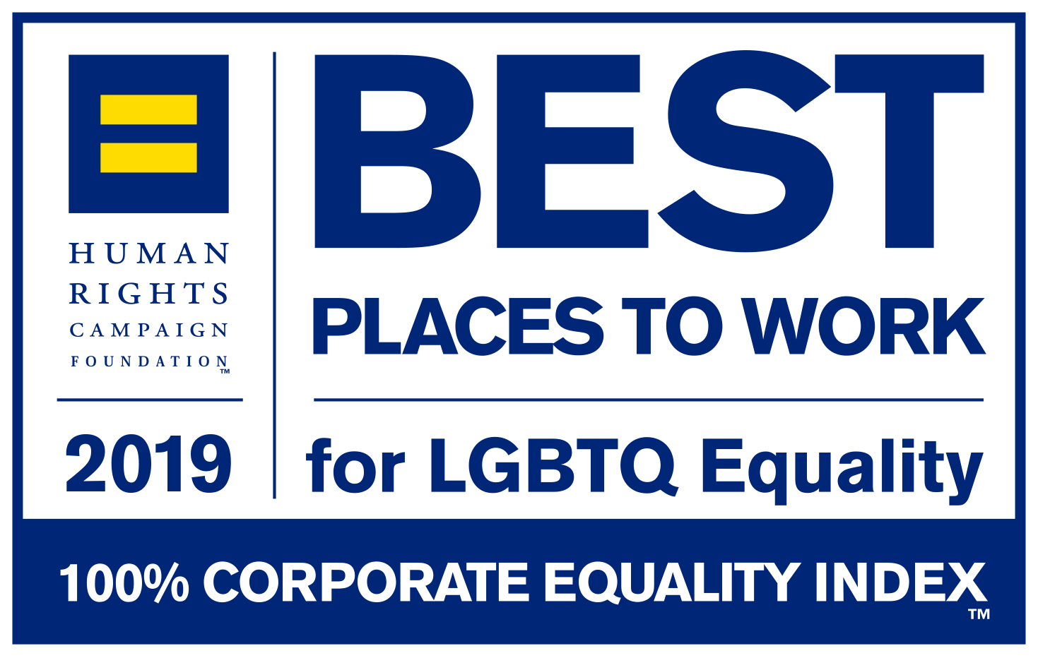 Best Places to Work for LGBTQ Equality | 2019