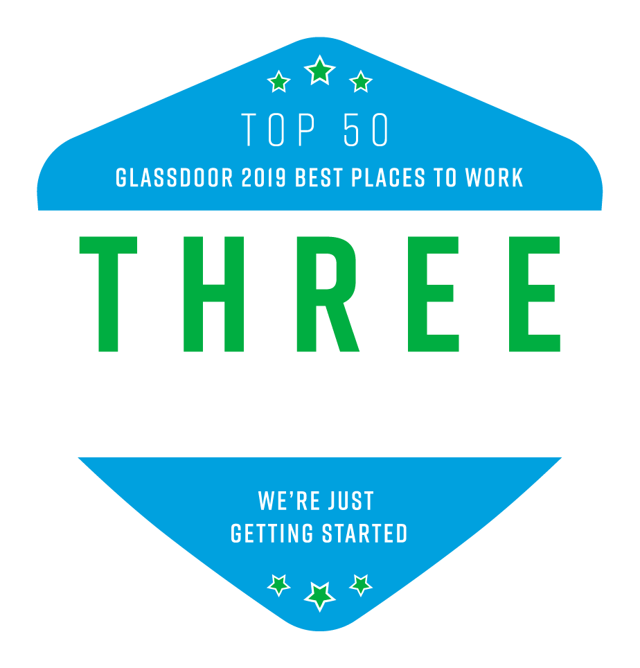 Glassdoor Three Years Strong